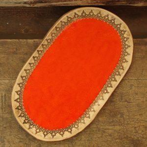 pomarańczowa frywolitka