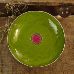 zielona miska