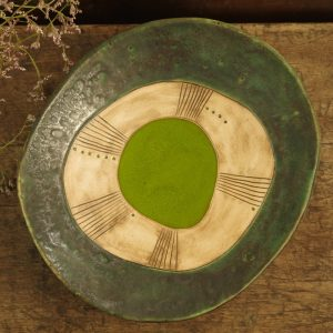 zielona na nóżkach II