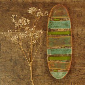 rynienka zielono-turkusowa